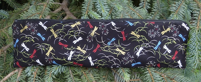 Stitch, Long zippered bag for knitting needles up to 14 long