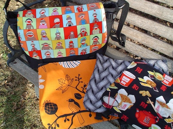 messenger bags with removable flaps