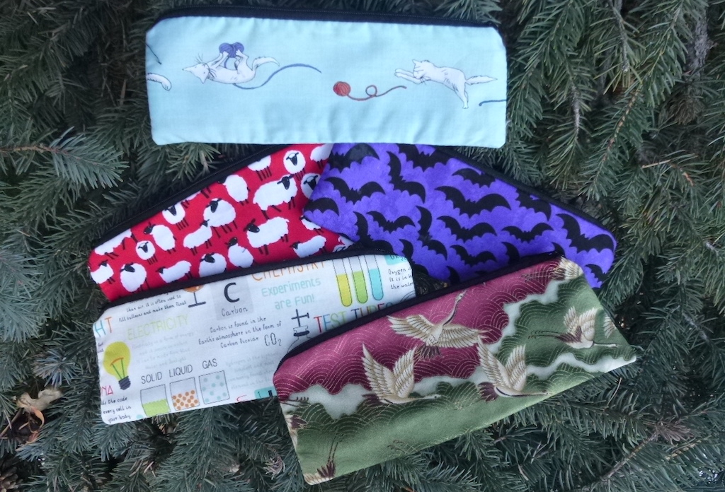 Scribe Pen and Pencil Case or Crochet Hook Pouch