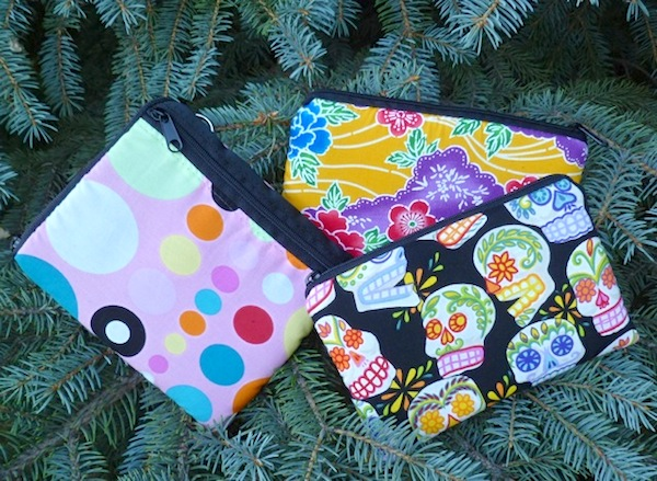 Padded cases for phones, small electronics