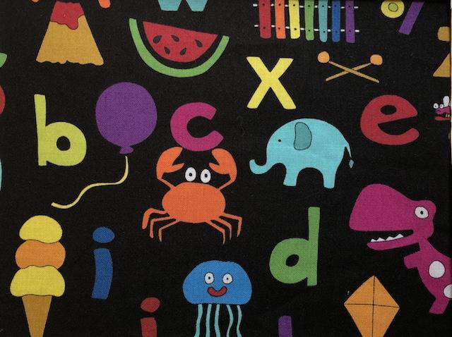 Alphabet adjustable face mask Zoe's Bag Boutique