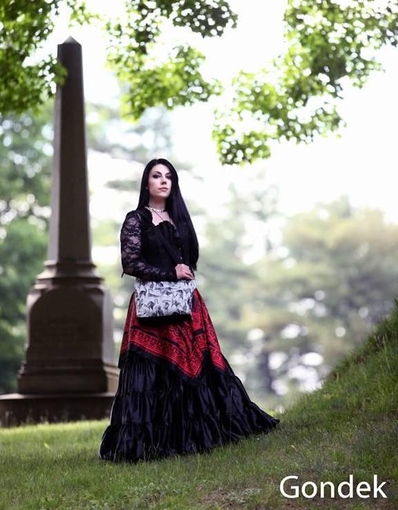 Anathema Steele and her Tallulah purse
