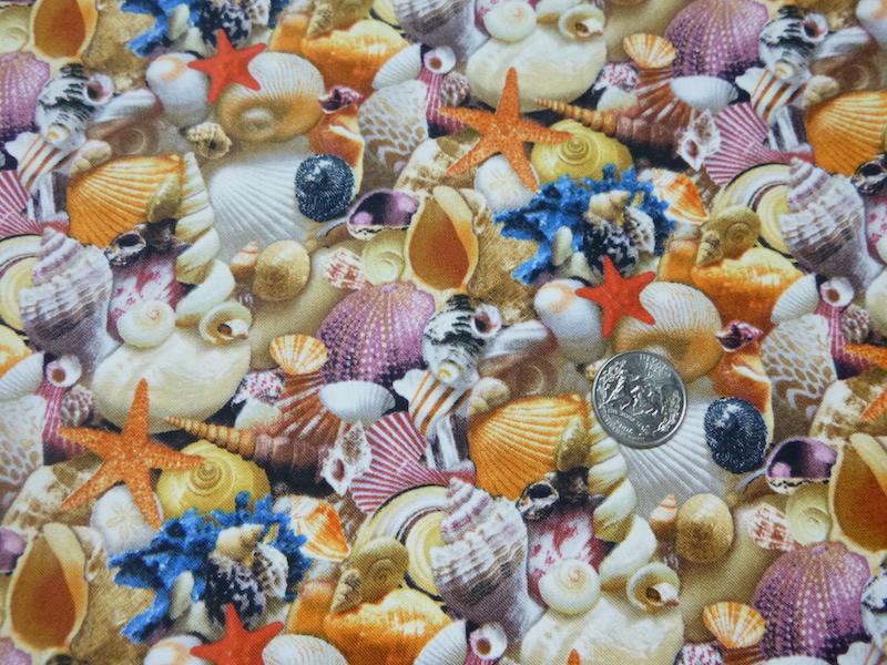 Seashells zippered tote for mahjong racks and matching bag for tiles