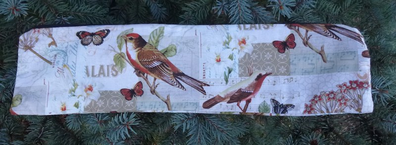 birds long case for knitting needles up to 14""