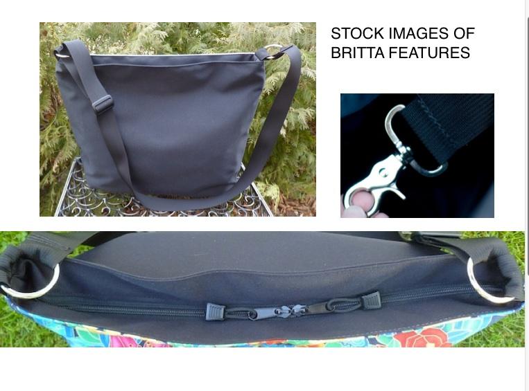large zippered travel bag