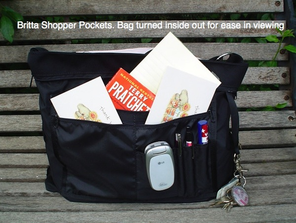 large purse with organzing pockets