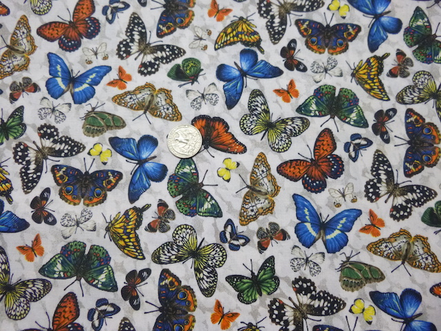 butterflies flat bottom zippered bag for mahjong tiles