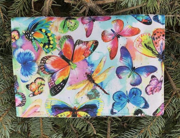 Butterfly Joy Wallet on a String