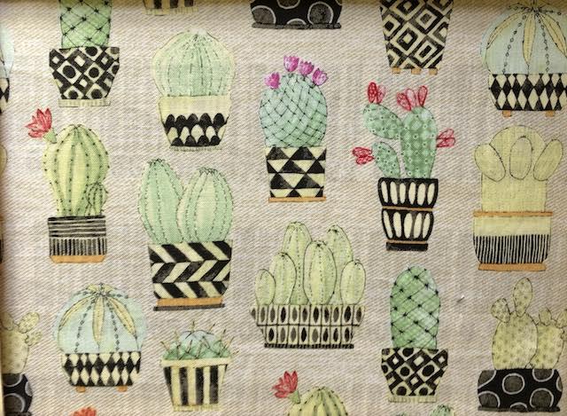 cactus adjustable face mask Zoe's Bag Boutique