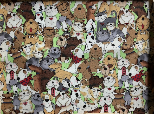 cats and dogs face mask Zoe's Bag Boutique