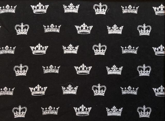crowns adjustable face mask Zoe's Bag Boutique