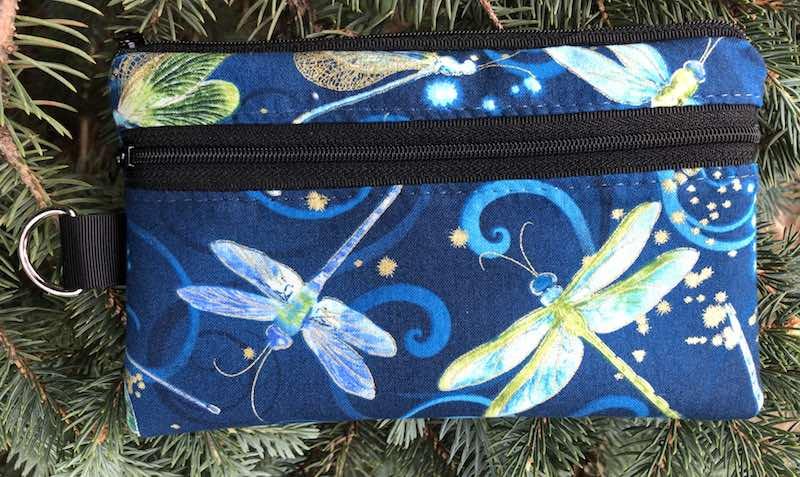 dragonflies mini wallet