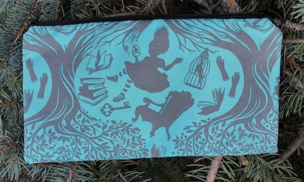 Down the Rabbit Hole Deep Scribe Pen and Pencil Case