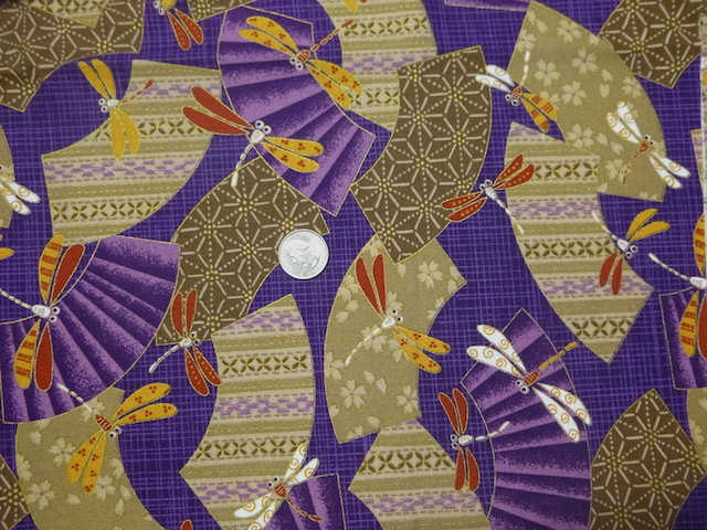 Dragonflies on purple softside tote for mahjong racks and tiles