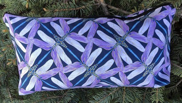 Dragonfly Wings Large Zini Flat Bottom Bag