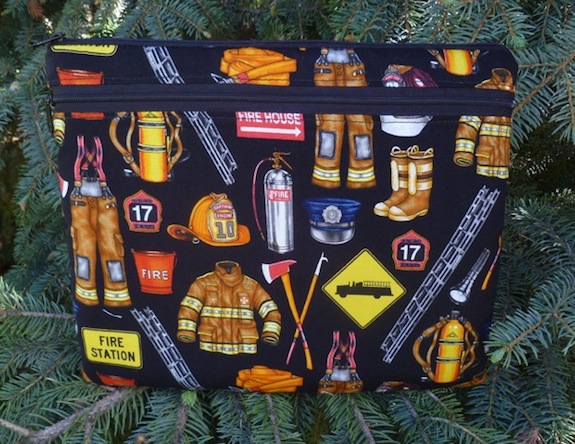 firefighter iPad case with optional shoulder strap