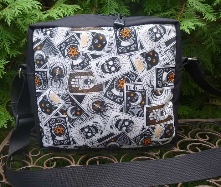Halloween Fortune Tellers card shoulder crossbody bag