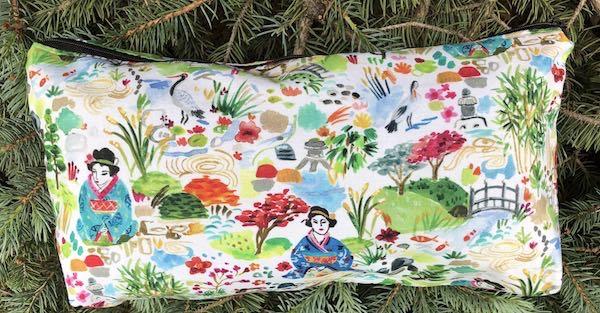 Geisha Garden Large Zini Flat Bottom Bag