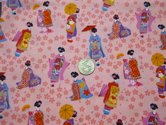 Geisha on pink mahjong racks soft sided tote bag and tile bag