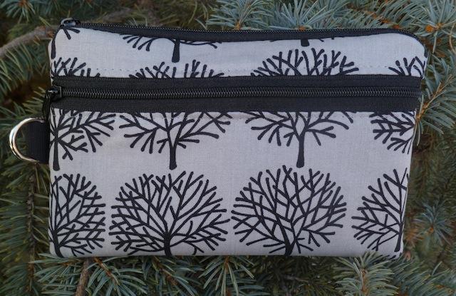 Ghastlie Trees mini wallet wristlet iPhone purse