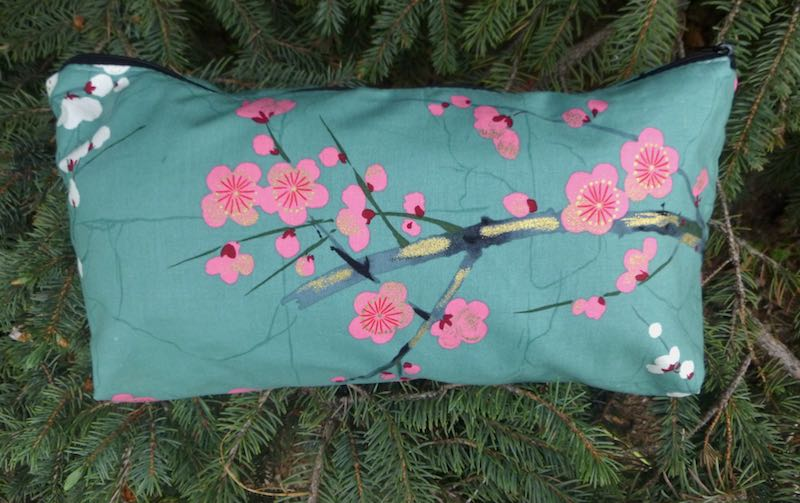 Cherry blossoms bag for mahjong tiles