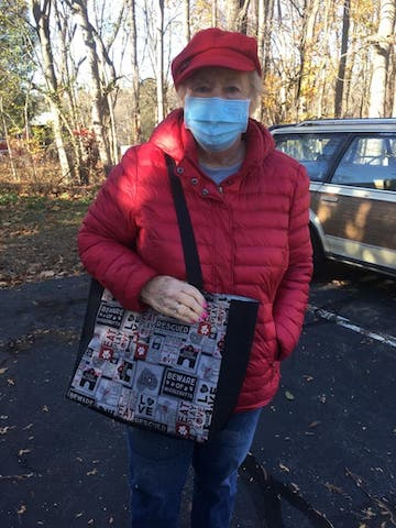 tote bag for dog rescues