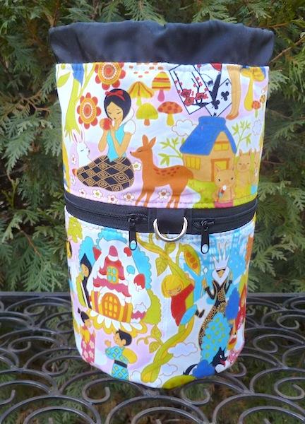 Kawaii fairy tales knitting project bag