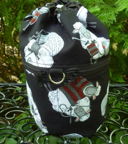 knitting sheep project bag review