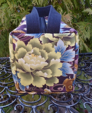 custom made boutique large toiletry case for women