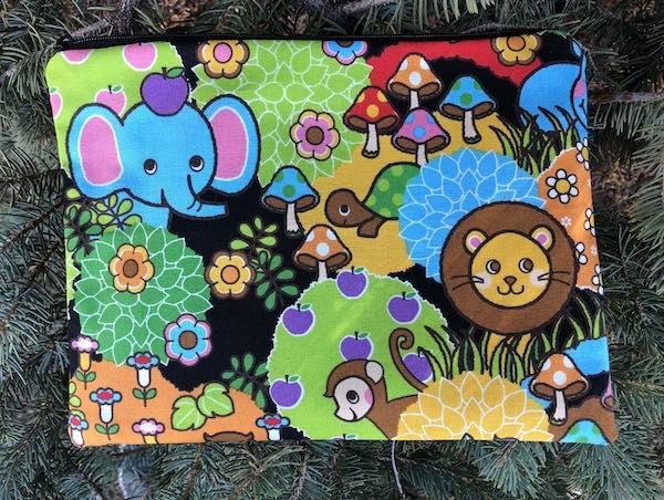 cute animals large pencil case