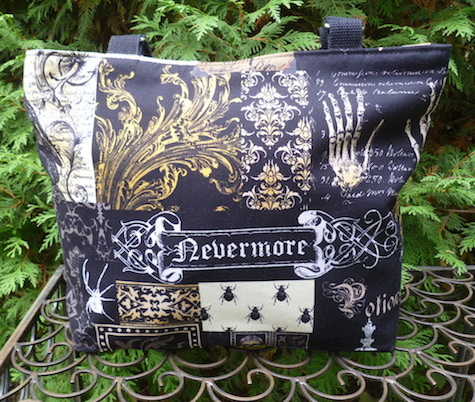 Nevermore Tribute to Edgar Allan Poe purse
