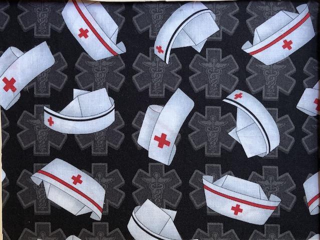 Nurses caps adjustable face mask