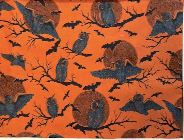 owls and moons adjustable face mask Halloween