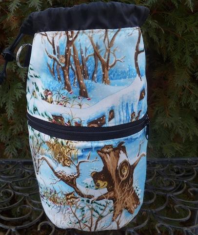 custom made knitting project bag