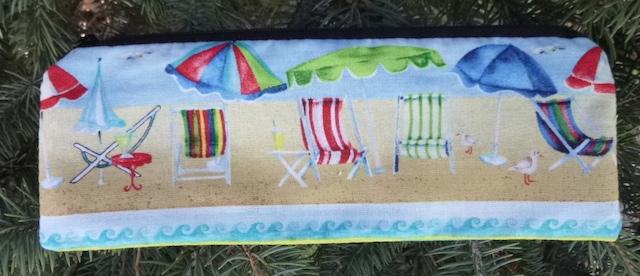 beach pencil case