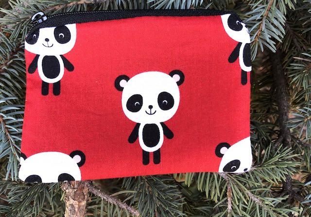 cute panda coin purse
