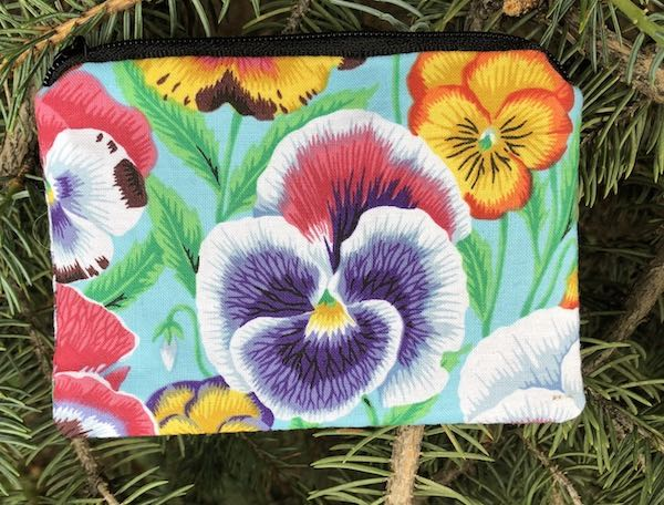 Pansy Coin purse, The Raven