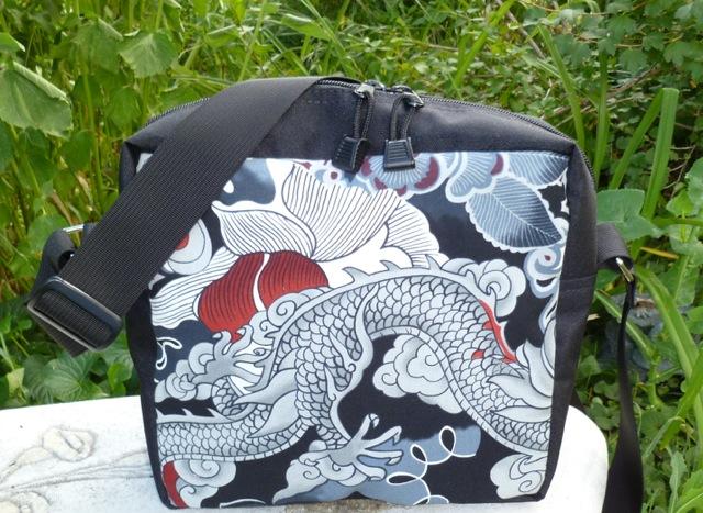 Boutique style custom made shoulder bag hipster bag made in America