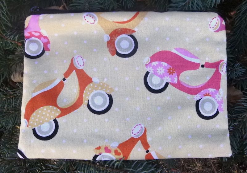 Scooters zippered bag