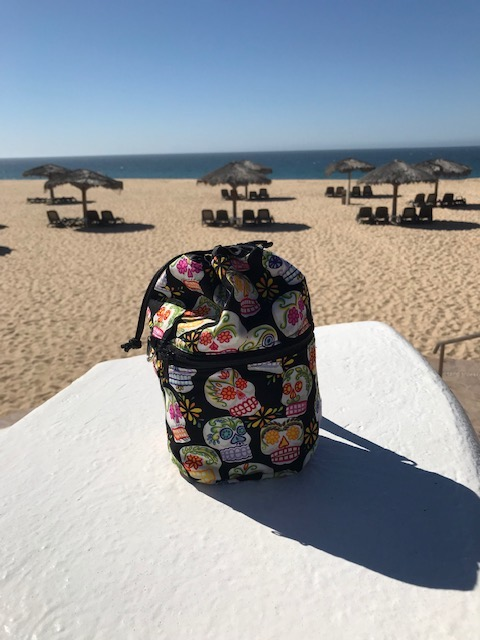 Kipster knitting bag in Cabo