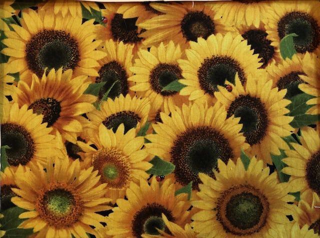 Sunflowers adjustable face mask