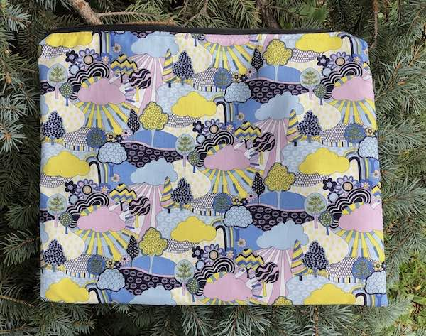 Sunny Afternoon, case for needlework projects, patterns, documents or travel, The Pippa
