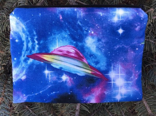 UFO's zippered bag