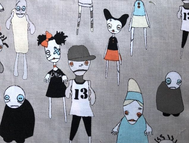 Zombie  adjustable face mask Zoe's Bag Boutique