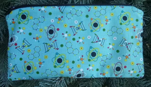Atoms pencil case