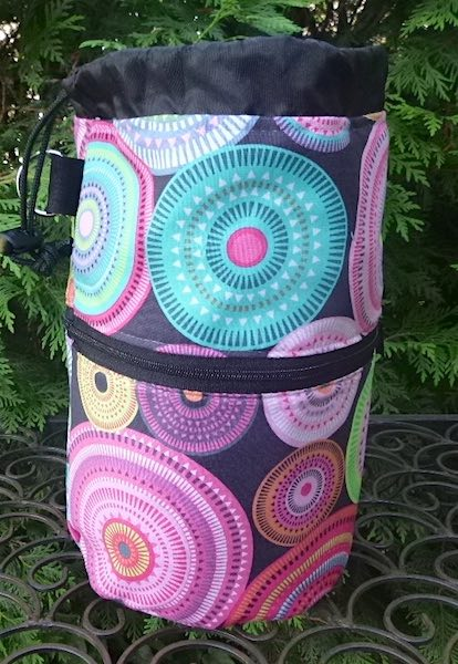 pretty knitting project bag