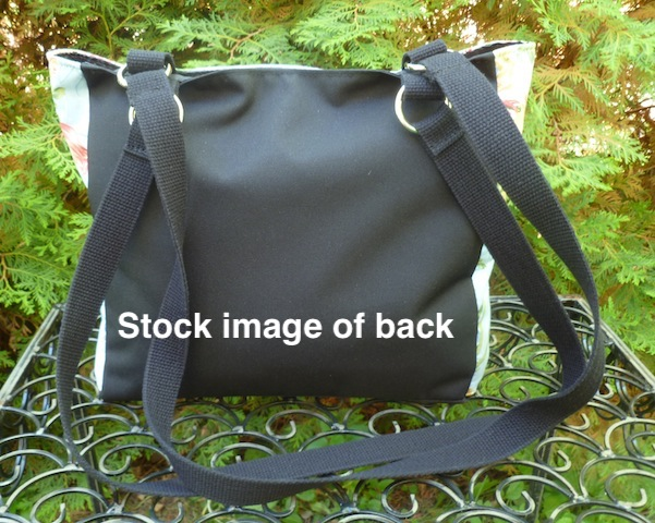 large purse with long handles