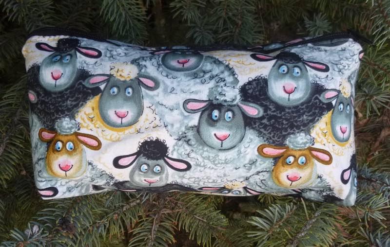 sheep flat bottom bag