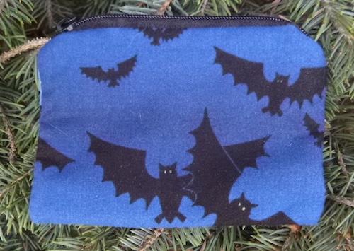 bats coin purse