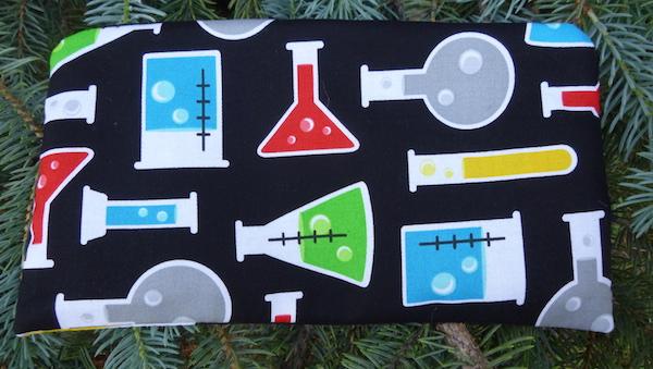 Science beakers pencil case